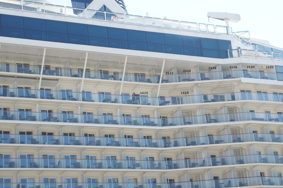 Question On Quot S Quot Class Quot Hump Quot Balconies Cruise Critic